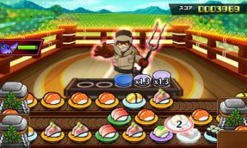 Immagine -5 del gioco Sushi Striker: The Way of Sushido per Nintendo 3DS
