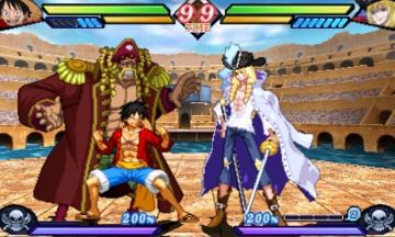 Immagine -3 del gioco One Piece: Great Pirate Colosseum per Nintendo 3DS