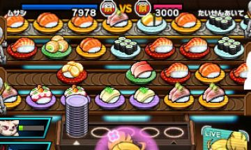 Immagine -4 del gioco Sushi Striker: The Way of Sushido per Nintendo 3DS