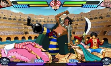 Immagine -2 del gioco One Piece: Great Pirate Colosseum per Nintendo 3DS