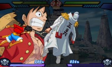Immagine -5 del gioco One Piece: Great Pirate Colosseum per Nintendo 3DS