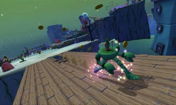 Immagine -5 del gioco SpongeBob HeroPants per Nintendo 3DS