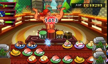 Immagine -1 del gioco Sushi Striker: The Way of Sushido per Nintendo 3DS