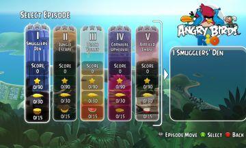 Immagine -1 del gioco Angry Birds Trilogy per Nintendo 3DS