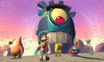 Immagine -3 del gioco SpongeBob SquarePants: La Vendetta Robotica di Plankton per Nintendo 3DS
