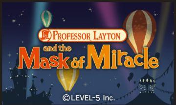 Immagine -5 del gioco Il Professor Layton la Maschera dei Miracoli per Nintendo 3DS