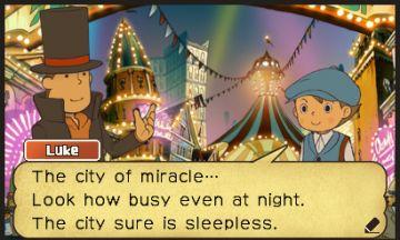 Immagine -4 del gioco Il Professor Layton la Maschera dei Miracoli per Nintendo 3DS