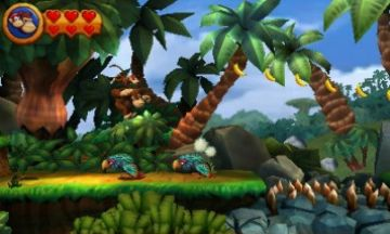 Immagine -4 del gioco Donkey Kong Country Returns 3D per Nintendo 3DS