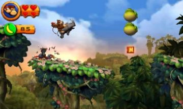 Immagine -3 del gioco Donkey Kong Country Returns 3D per Nintendo 3DS