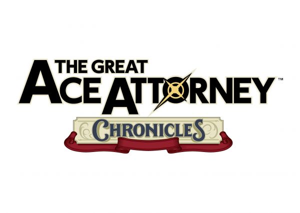 Logo del gioco The Great Ace Attorney Chronicles per PlayStation 4