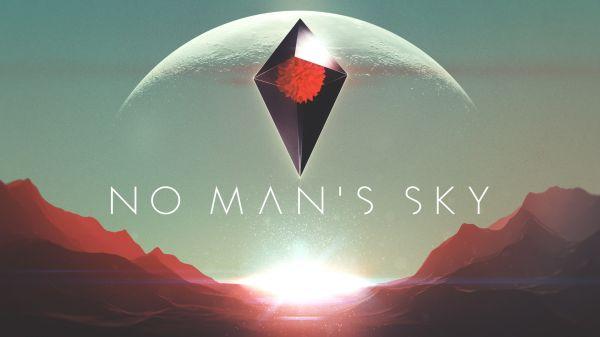 Logo del gioco No Man's Sky per PlayStation 4