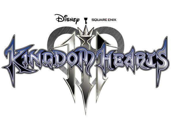 Logo del gioco Kingdom Hearts 3 per PlayStation 4