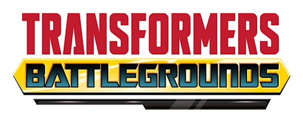 Logo del gioco Transformers: Battlegrounds per Nintendo Switch