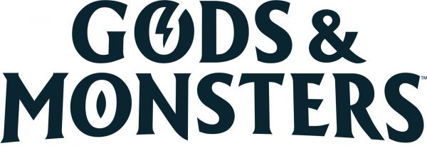 Logo del gioco Gods & Monsters per Nintendo Switch