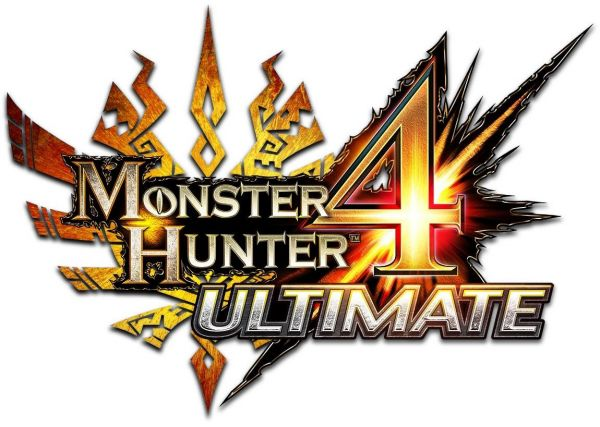 Logo del gioco Monster Hunter 4 Ultimate per Nintendo 3DS