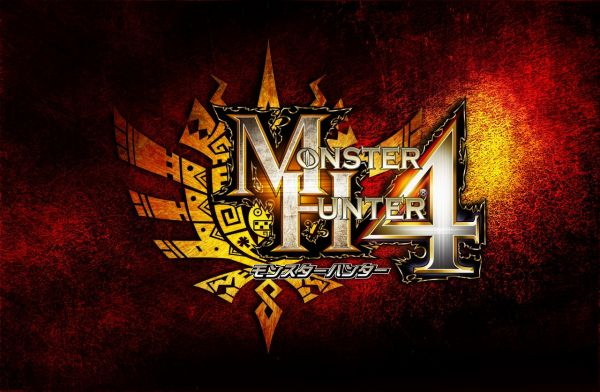 Logo del gioco Monster Hunter 4 per Nintendo 3DS