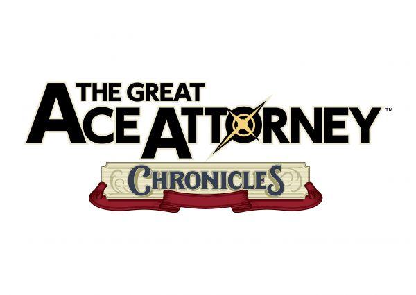 Logo del gioco The Great Ace Attorney Chronicles per Nintendo Switch
