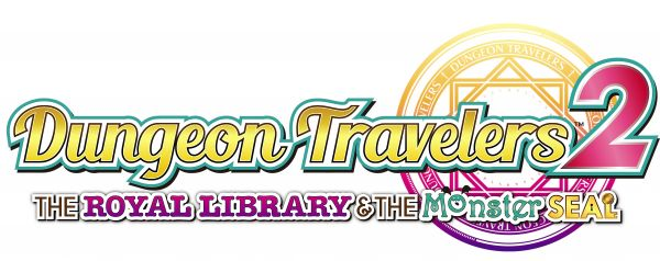 Logo del gioco Dungeon Travelers 2: The Royal Library & the Monster Seal per PSVITA