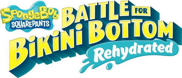 Logo del gioco Spongebob SquarePants: Battle for Bikini Bottom - Rehydrated per Nintendo Switch