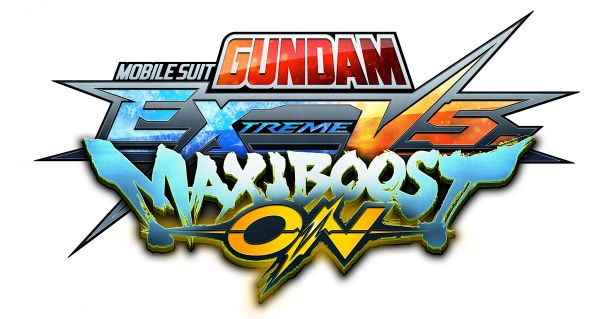Logo del gioco Mobile Suit Gundam Extreme VS. Maxiboost On per PlayStation 4