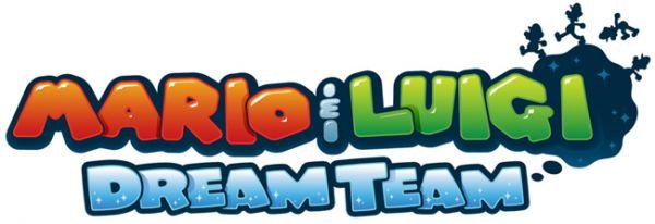 Logo del gioco Mario & Luigi: Dream Team Bros per Nintendo 3DS