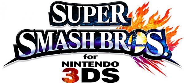 Logo del gioco Super Smash Bros per Nintendo 3DS