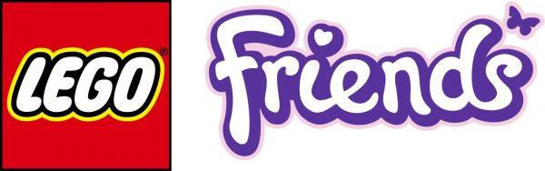 Logo del gioco LEGO Friends per Nintendo DS