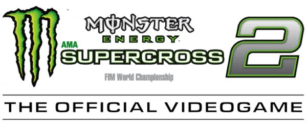 Logo del gioco Monster Energy Supercross - The Official Videogame 2 per Nintendo Switch