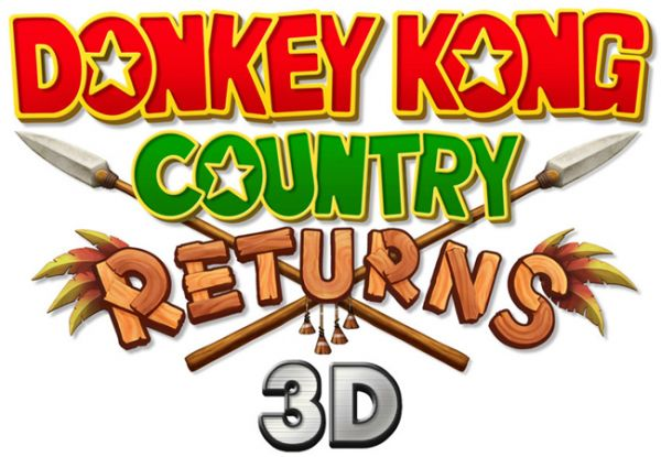 Logo del gioco Donkey Kong Country Returns 3D per Nintendo 3DS