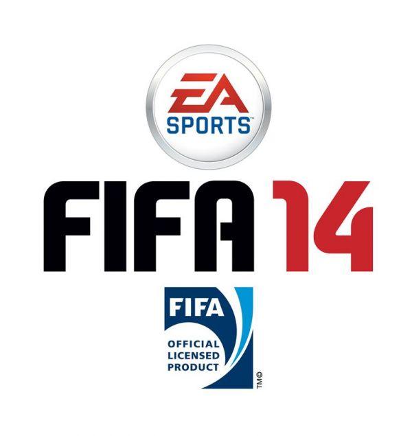 Logo del gioco FIFA 14 per PlayStation PSP