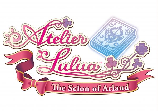 Logo del gioco Atelier Lulua: The Scion of Arland per Nintendo Switch
