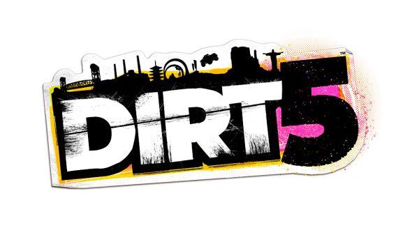 Logo del gioco DIRT 5 per Xbox One