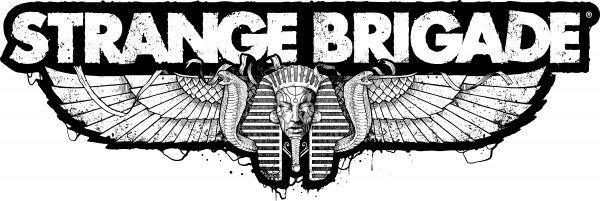 Logo del gioco Strange Brigade per Xbox One