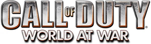 Logo del gioco Call of Duty: World at War per Xbox 360