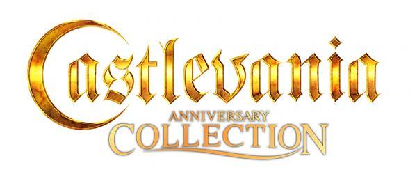 Logo del gioco Castlevania Anniversary Collection per Nintendo Switch