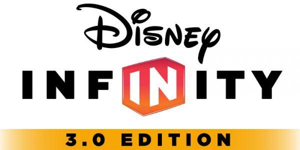 Logo del gioco Disney Infinity 3.0 per Xbox 360