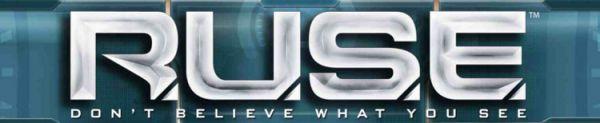 Logo del gioco R.U.S.E. per PlayStation 3