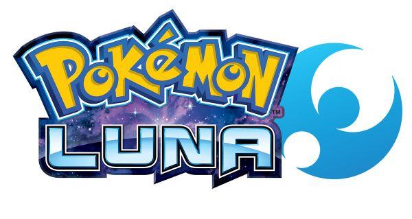 Logo del gioco Pokemon Luna per Nintendo 3DS