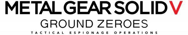 Logo del gioco Metal Gear Solid V: Ground Zeroes per Xbox One