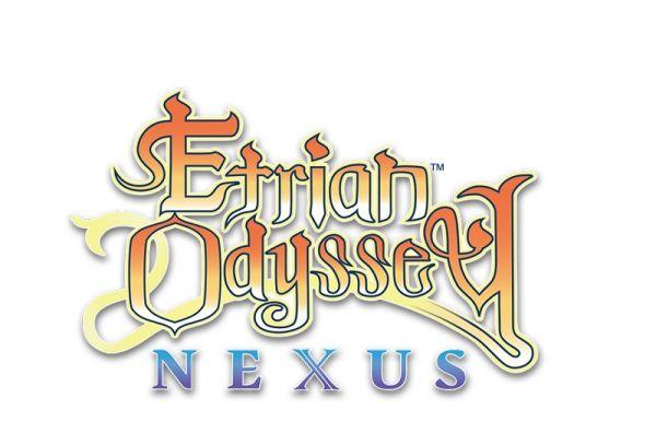 Logo del gioco Etrian Odyssey Nexus per Nintendo 3DS