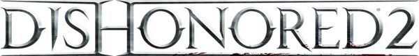 Logo del gioco Dishonored 2 per Xbox One