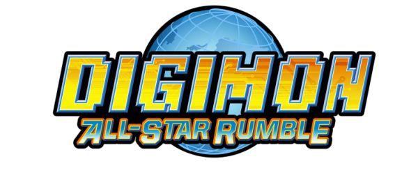 Logo del gioco Digimon All-Star Rumble per Xbox 360