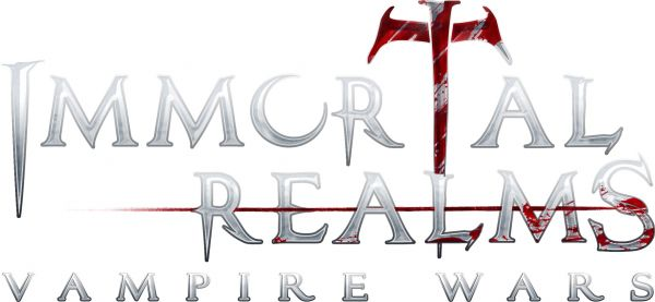 Logo del gioco Immortal Realms: Vampire Wars per Nintendo Switch