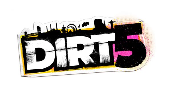 Logo del gioco DIRT 5 per PlayStation 5