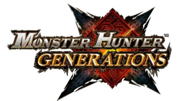 Logo del gioco Monster Hunter Generations per Nintendo 3DS
