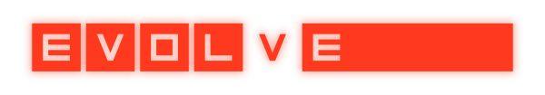 Logo del gioco Evolve per Playstation 4