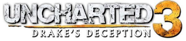 Logo del gioco Uncharted 3: L'inganno di Drake per PlayStation 3