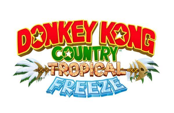 Logo del gioco Donkey Kong Country: Tropical Freeze per Nintendo Wii U