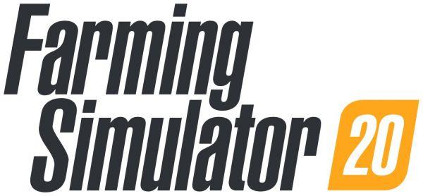 Logo del gioco Farming Simulator 20 per Nintendo Switch