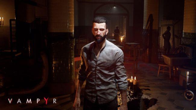Vampyr, la sete di sangue pizzica nel nuovo trailer di gioco